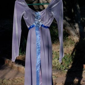 Stretch Velveteen and Chiffon Fairy Costume